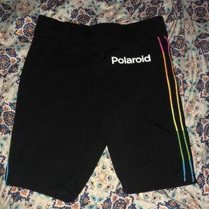 Polaroid sweatshorts